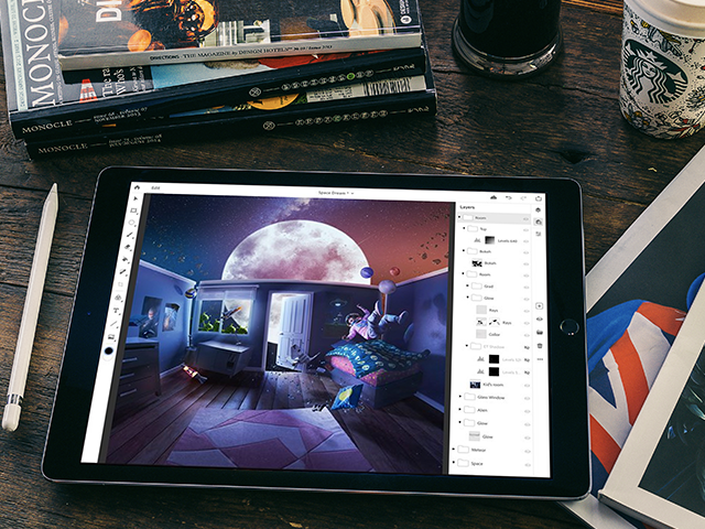 Adobe Photoshop for iPad is here!