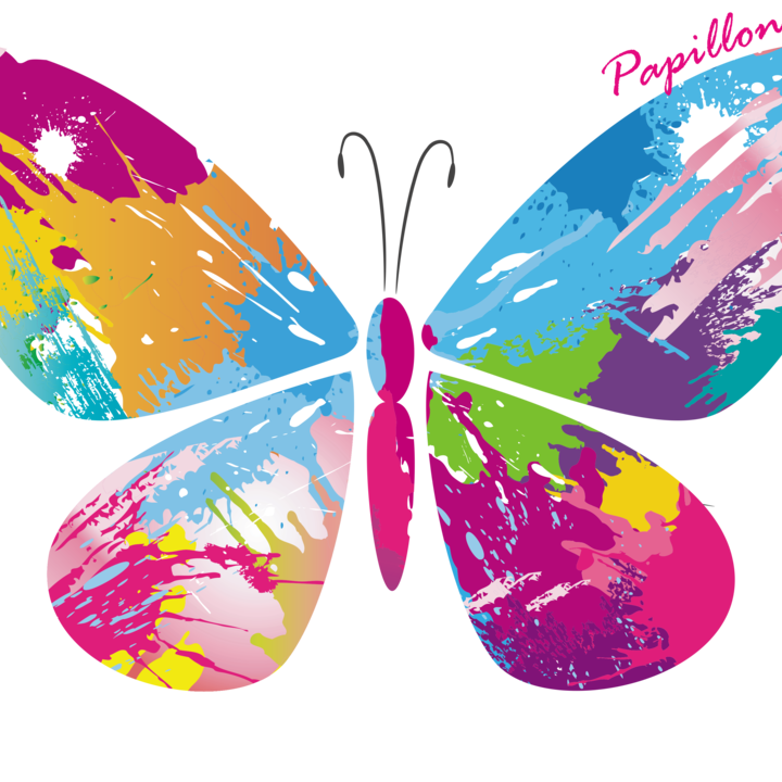 Abstract Butterfly by Babrees Designs