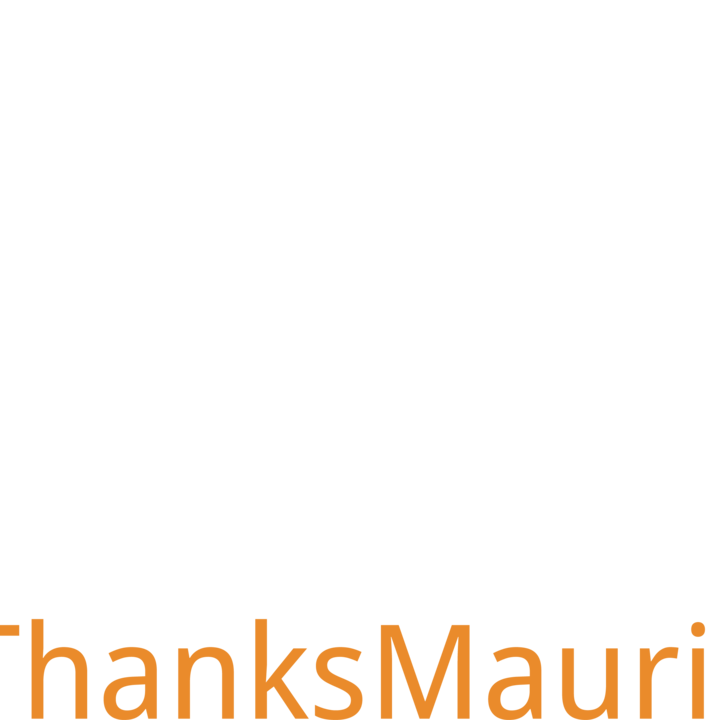 #ThanksMaurice Carnival T-Shirt by Maurice Appreciation