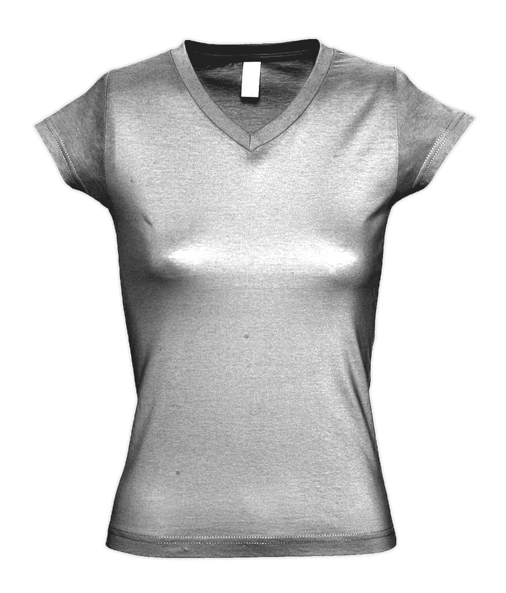 Design Your Sol 39 S Ladies Moon V Neck T Shirt