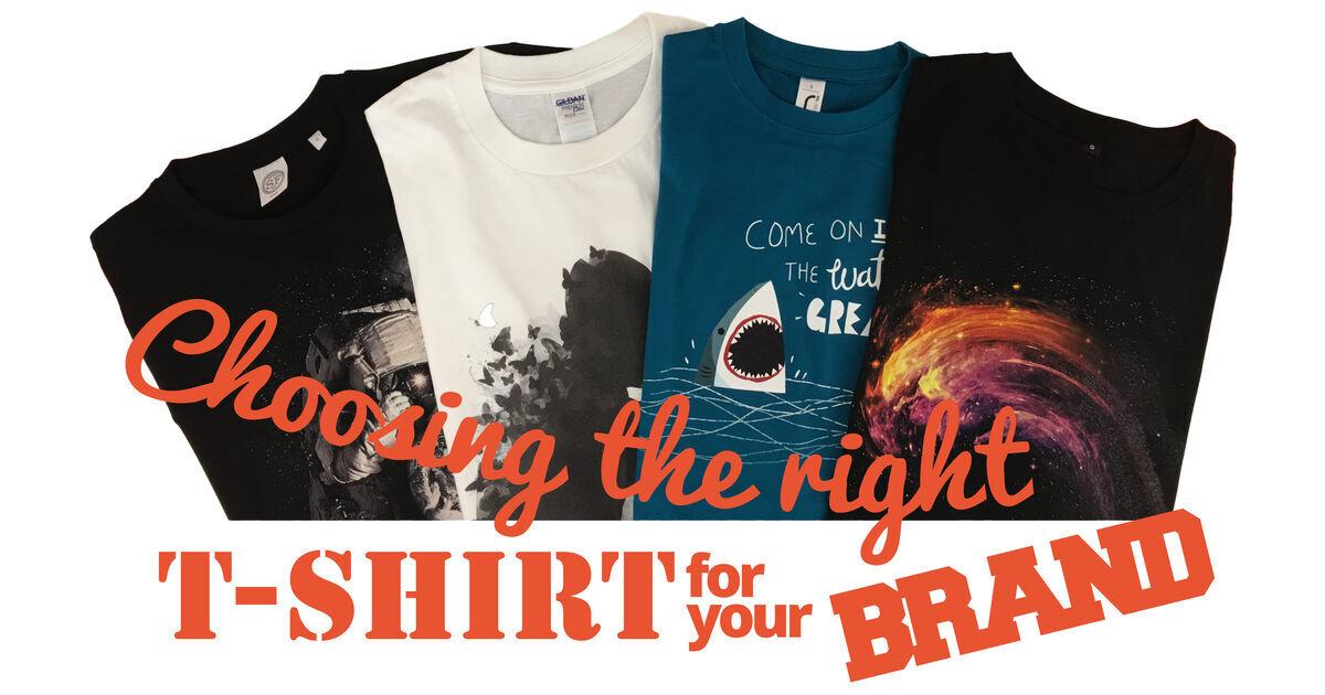 ccb2d1830 Choosing the right branded t shirts