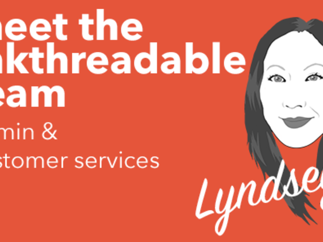 Meet the Inkthreadable team - Lyndsey