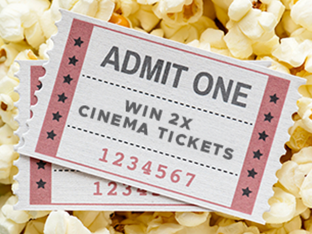 Win a trip to the flicks!