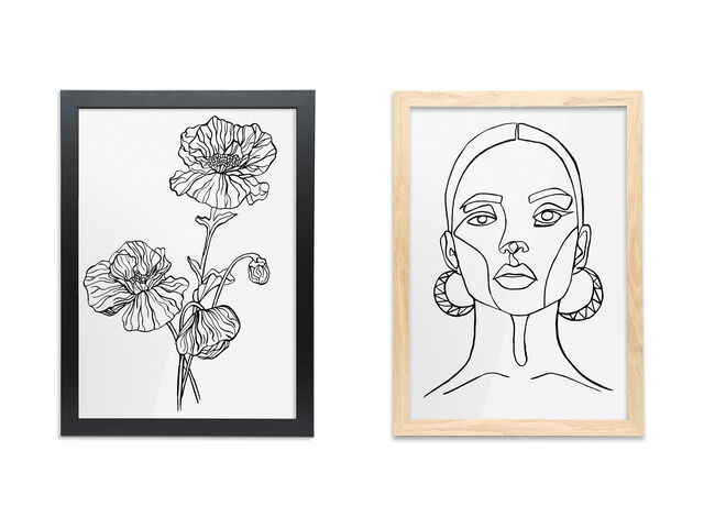 NEW! Framed Prints & Embroidery Products