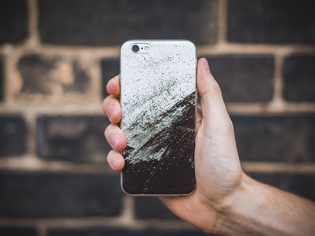 Screen cracked? Made you look!