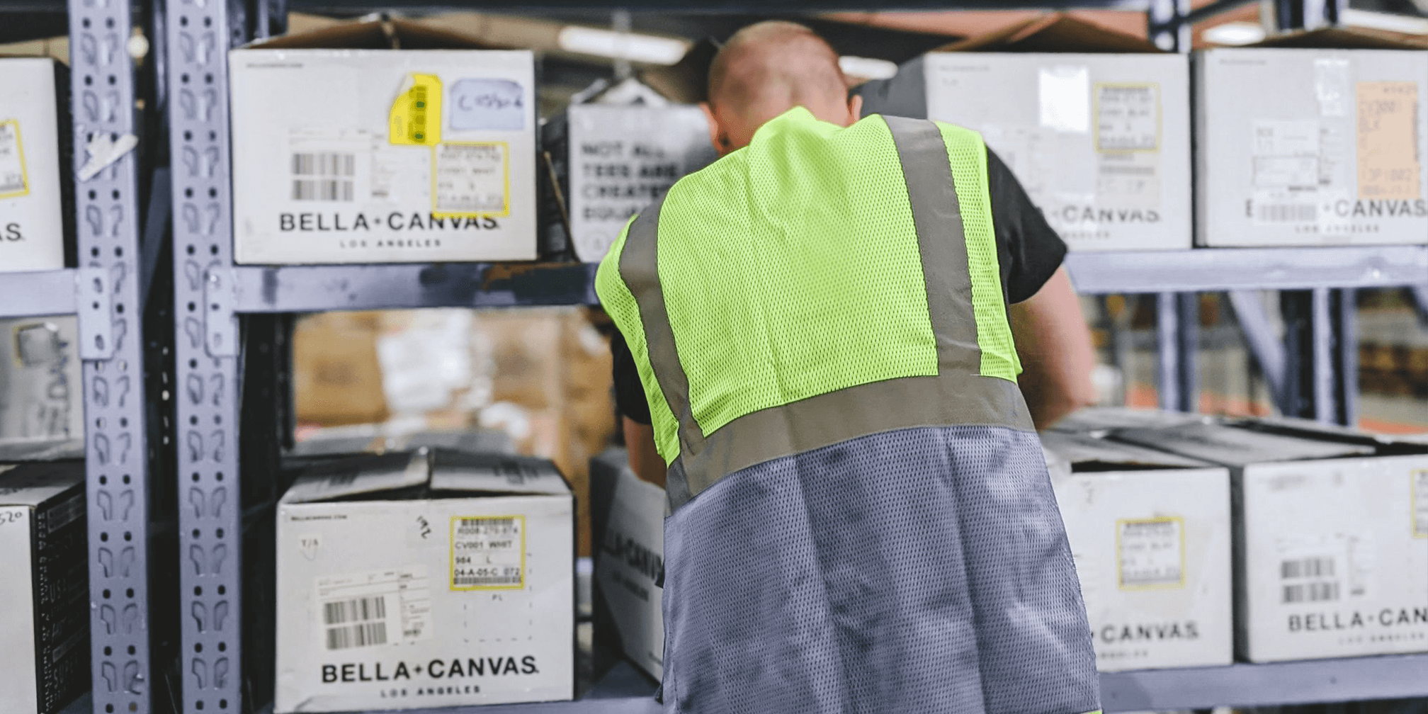 inkthreadable's warehousing capacity has expanded greatly