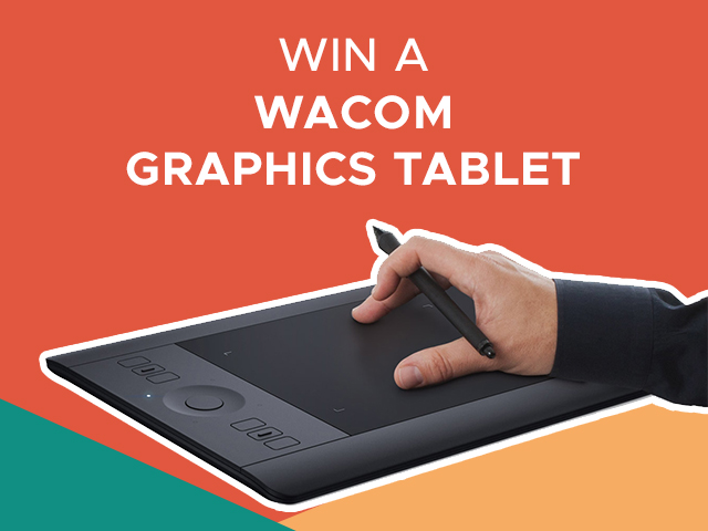 Win a Wacom Intuos Pro Small Graphics Tablet this February