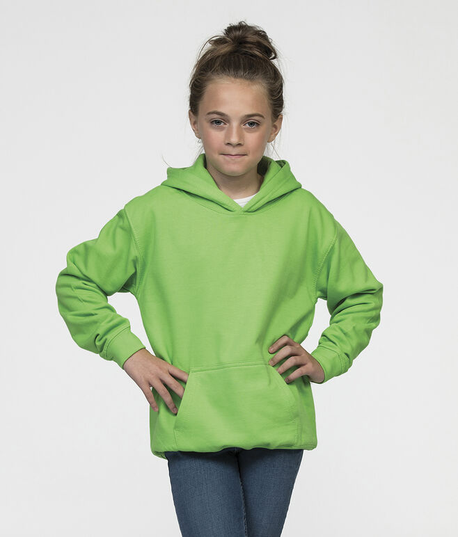 Embroidered AWDis Kids Hoodie