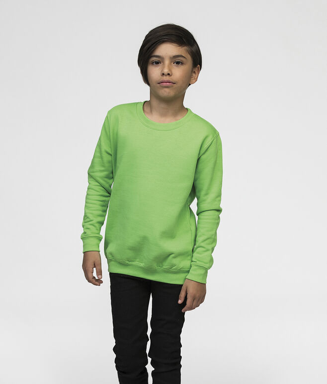 Embroidered AWDis Kids Sweatshirt