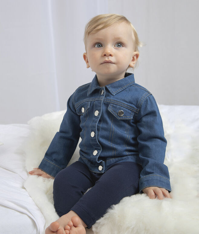 Embroidered Babybugz Denim Jacket