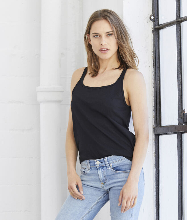 Bella Relaxed Jersey Tank Top