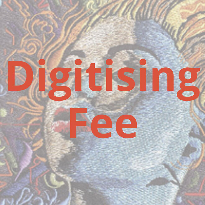Digitising Fee for embroidery