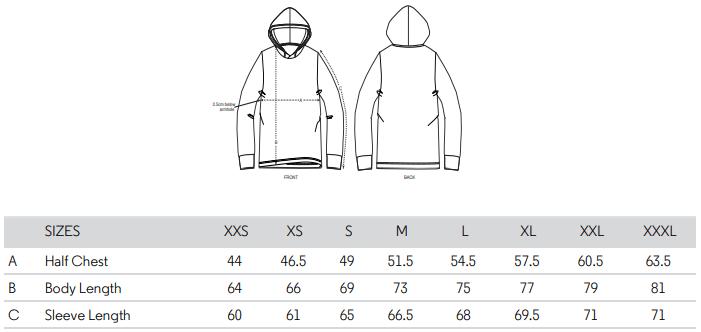 Creator Size Guide