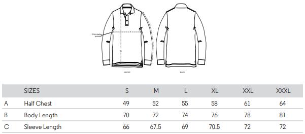 Stanley Dedicator Size Guide